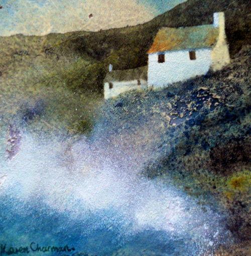 Clifftop cottage