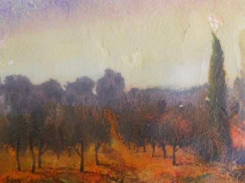 The Orange grove, Tuscany