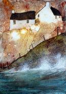Cornish fishermans cottages