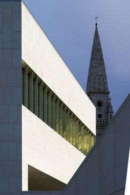 Lexicon Library and the Mariner's Church, Dun Laoghaire