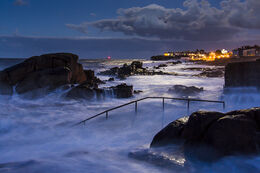 Storm at the Forty Foot