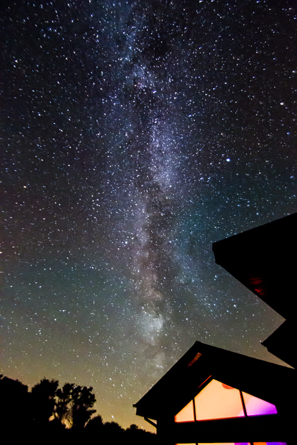 Milky Way over Wexford