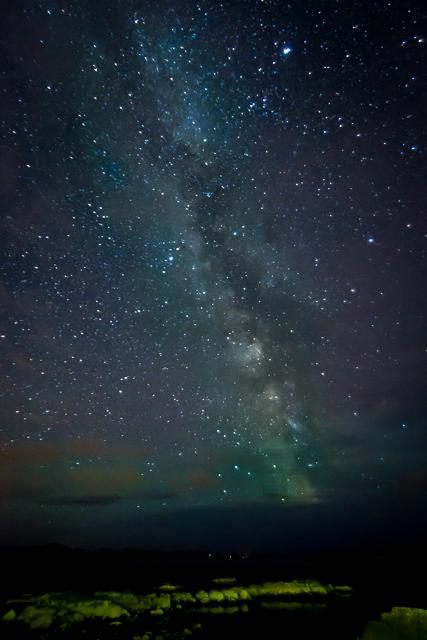 Milky Way over Derrrynane