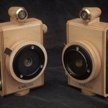 Karlos 100 & Karlos 101. 6x6 pinhole camera with 36mm focal length