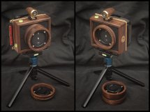 Karlos 132 6x9 camera with 35mm & 65mm focal lengths