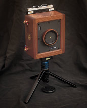 Karlos 135. 4x5 camera with 75mm focal length