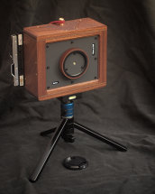 Karlos 136. 4x5 camera with 75mm focal length