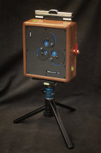 Karlos 158, 4x5 perspective pincam with 60mm focal length. Walnut