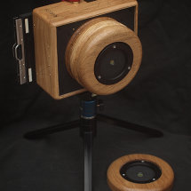 Karlos 88. 4x5 pinhole camera with 110mm and 65mm focal length.