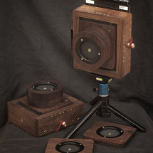 Karlos 96 & 98. 4x5 pinhole cameras with a focal length of 50mm and 90mm