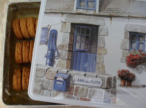 French butter biscuits made by Biscuiterie Joubard