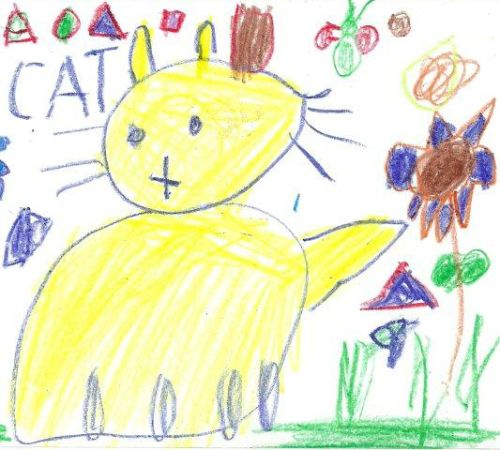 drawing by Infants 2 pupil