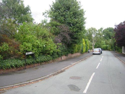 my birthplace (1961): Heath End Road, Alsager, Cheshire