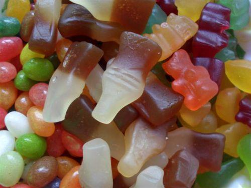 delicious, fruity vegan sweets
