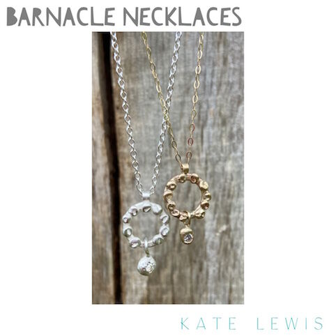 Diamond Set Barnacle Necklaces