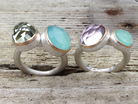 Clear and Cloudy Waters Ring