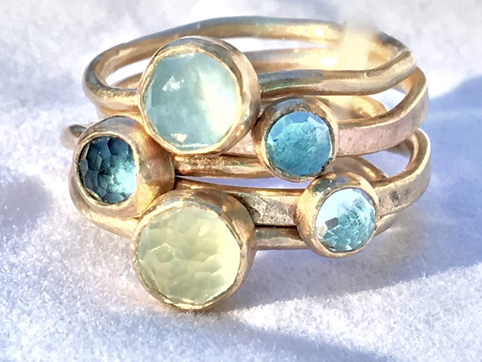 Shades of the Sea Stack Ring