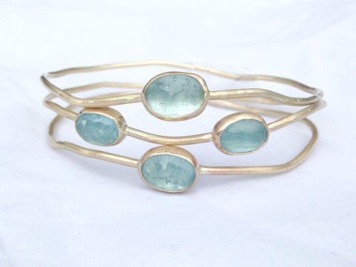 Triple Ripple Stack Bangle