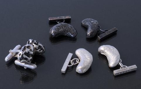 Solid Silver Cufflinks