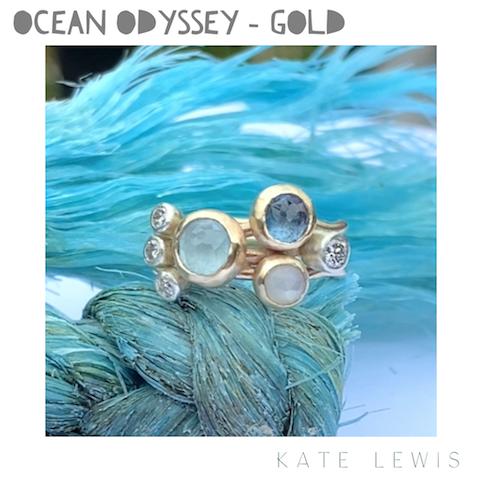 Ocean Odyssey Ring - Gold