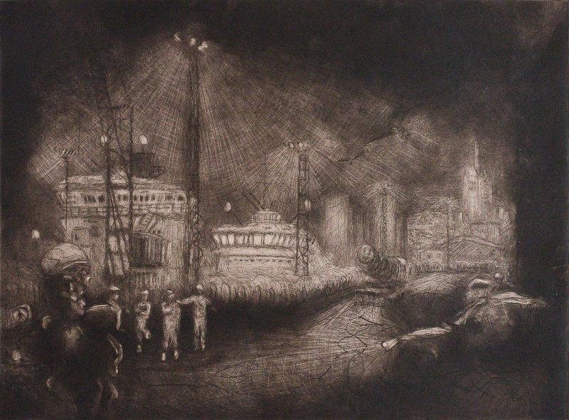 Nightshift at Waterloo Quay