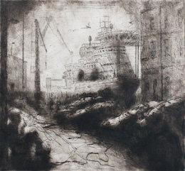 Harkan da Vinci along Waterloo Quay