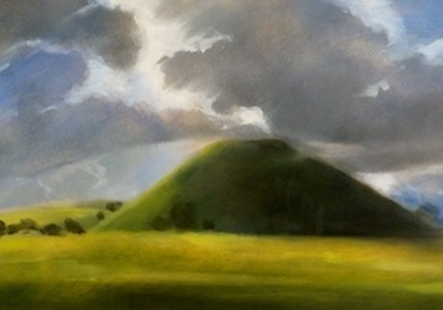 Silbury Hill (mini print)