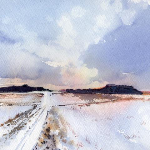 Salisbury Plain, December
