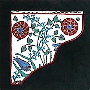 Iznic Tile from Turkey