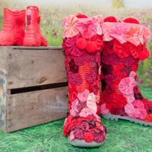 Wonderful wellies by Di Pickering