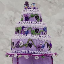 Wedding Cake, knitted by Lilla Wren