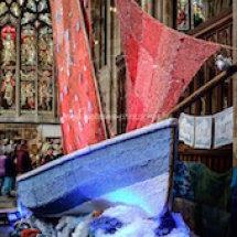 The refurbished boat in Hull