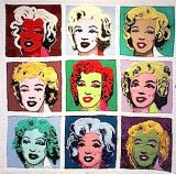 Marilyn, a tribute to Warhol