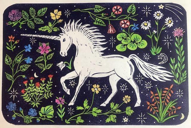 Millefleurs Unicorn