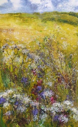 Golden Meadows 24 x 36 (sold)