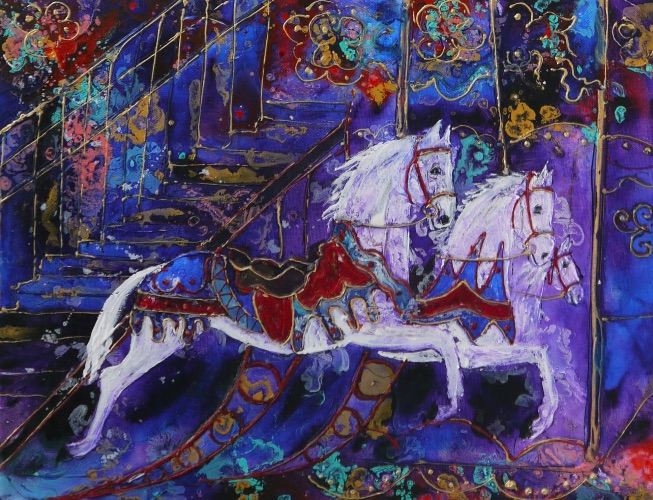 Carousel Horses (sold)