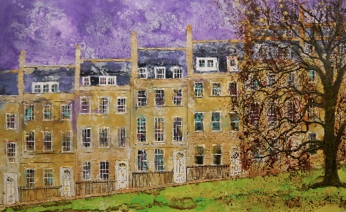 Towards The Crescent, Bath (sold)