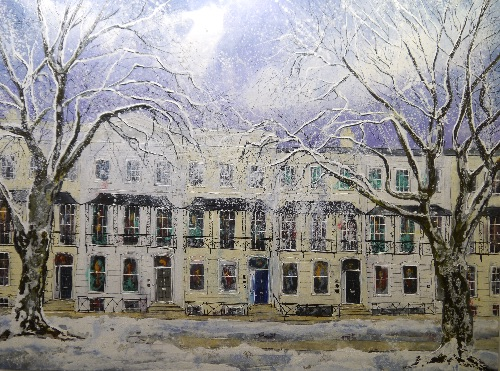 Under Winter Trees (sold)