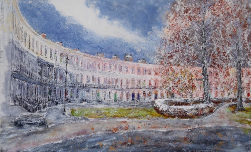 First Frost, Royal Crescent Cheltenham (sold)