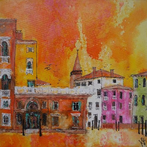 Venetian Sunset (sold)