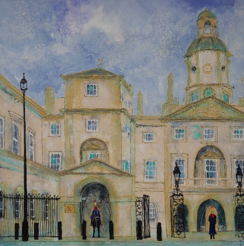 The Queens Horses, Horseguards, London (sold)