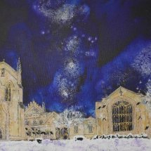 College Snow, Commission