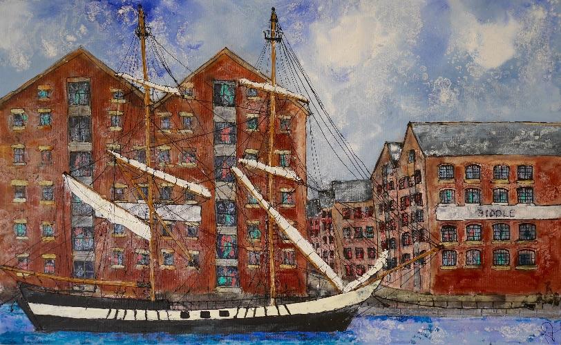 Gloucester Docks I (commission)