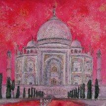 Pink Taj, Agra (sold)