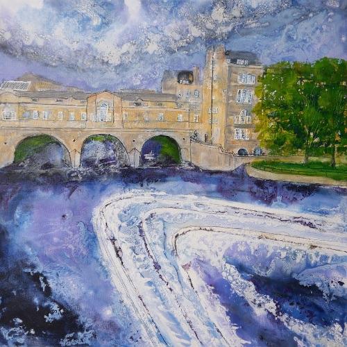 Poulteney Bridge, Bath (sold)