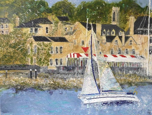 Sailing into Cowes (Commission)