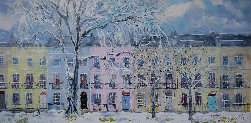 Snowy Gardens II (sold)