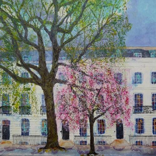 Springtime, Imperial Gardens (sold)
