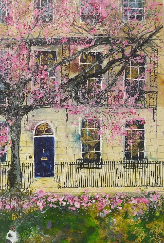 Under A Blossom Tree (sold)