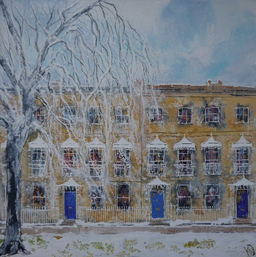 Winter in the Oxfords (sold)